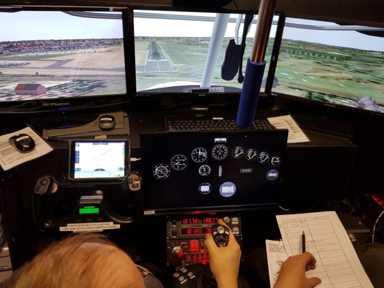 Flight Simulator Trial Flight