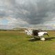 Nushin's plane at Little Gransden